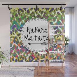 Hakuna Matata / No Worries Print Decor Wall Mural
