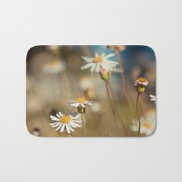 Field of Daisies - Floral Photography #Society6 Bath Mat