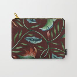 Paradise - Oxblood Carry-All Pouch