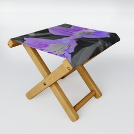 Twins On Grey Folding Stool
