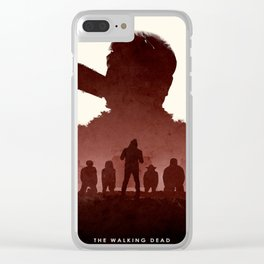 Negan Clear iPhone Case