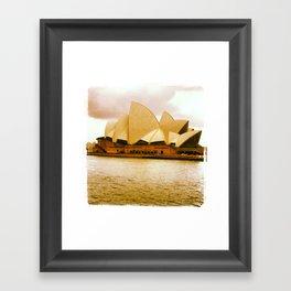 Take me to the Opera Framed Art Print