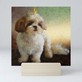 Bella Portrait - Shih Tzu Mini Art Print