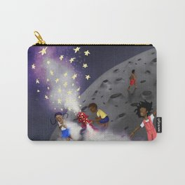 Making of the Milky Way Carry-All Pouch