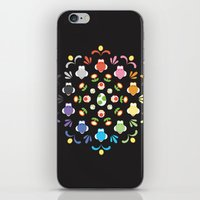 yoshi iPhone & iPod Skins featuring Yoshi Prism by Ashley Hay