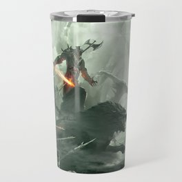 Warbeasts - CREATURES OF THE NORTH Travel Mug
