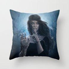 To The Stars Who Listen Throw Pillow