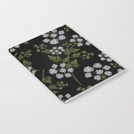 Hemlock Flower Pattern Notebook