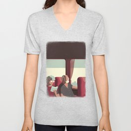 Day Trippers #1 - Arrival Unisex V-Neck
