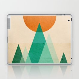No mountains high enough Laptop & iPad Skin