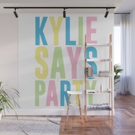 Kylie Minogue Wall Mural