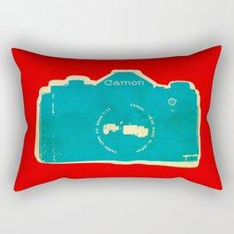Cam-on Photo Rectangular Pillow