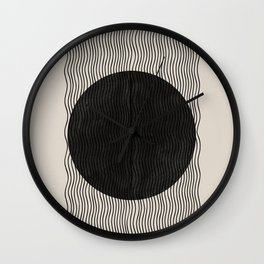 Woodblock Paper Art Wall Clock