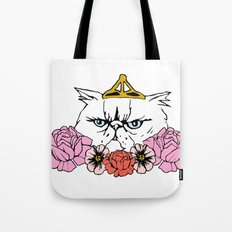 Queen Cat Tote Bag