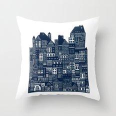 The Long Hall Throw Pillow