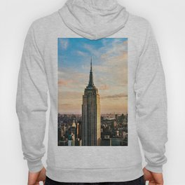 The Empire State Building in New York City (Color) Hoody