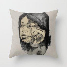 Apathy or boredom? Throw Pillow