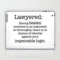 Lawyered Laptop & iPad Skin