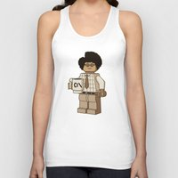shipping Tank Tops featuring I am a Giddy Goat! by powerpig