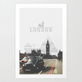 London City Art Print