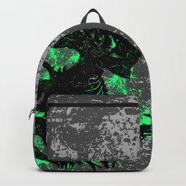 Alien Acid Green Backpack