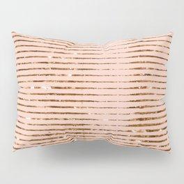 Rose Gold Sparkle Pillow Sham