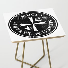 Knights Of Lazarus Discovery Of Witches Side Table