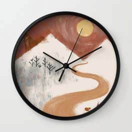 Journey with FOX 1 Wall Clock