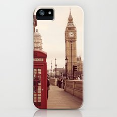London Booth Slim Case iPhone (5, 5s)