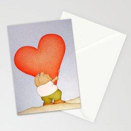 Heavy Heart Stationery Cards
