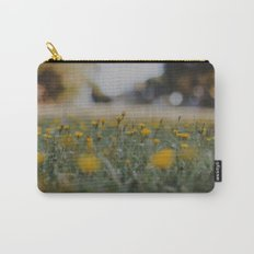 Yellow Summer Carry-All Pouch