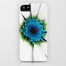White petals iPhone (5, 5s) Slim Case