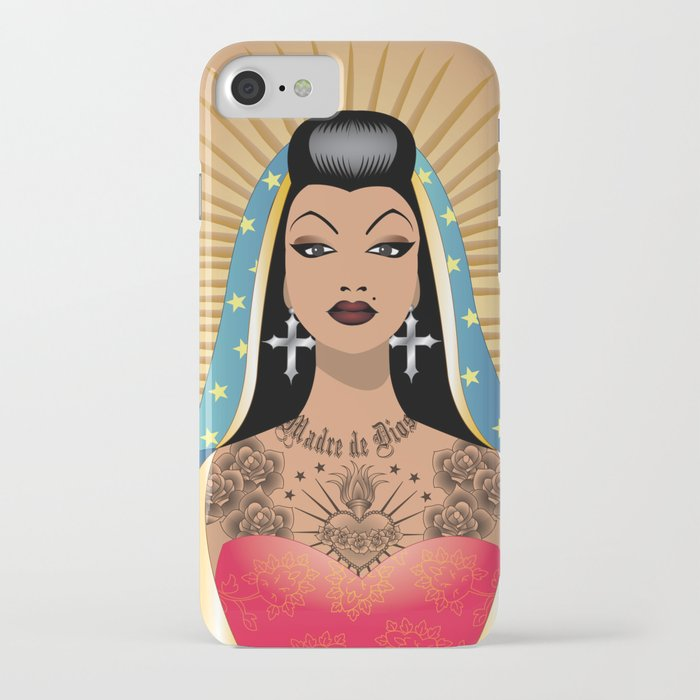 Chola Guadalupe iPhone Case