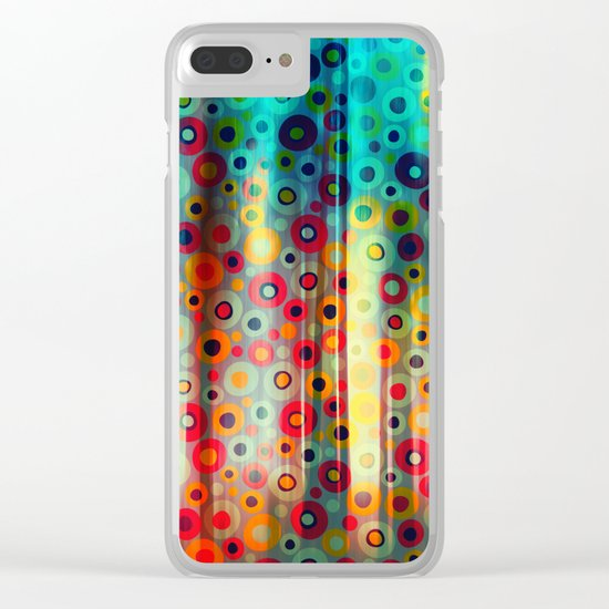 Fairy Tale Forest Clear iPhone Case
