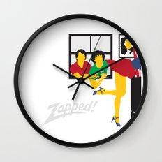 Zapped Wall Clock