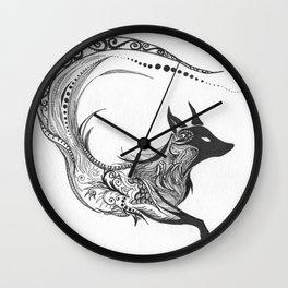 Sly Spirit Wall Clock