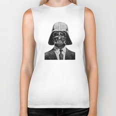 Darth Vader portrait Biker Tank