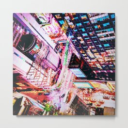 New York City at Night Metal Print