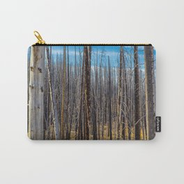 Standing Trees Carry-All Pouch