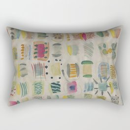 Watercolor Rectangular Pillow