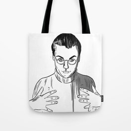 Would You Like To Touch My Monkey? Tote Bag