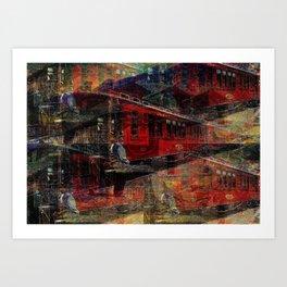 Durango & Silverton Art Print