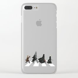 Villain Road Clear iPhone Case