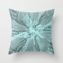 Sea Burst Throw Pillow