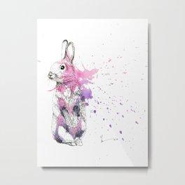 Bunny I Metal Print