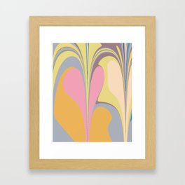 Abstract Pastel Framed Art Print