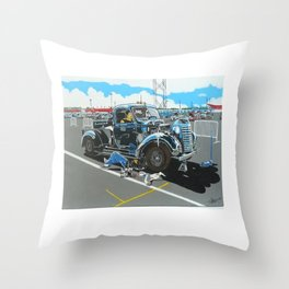 lets get it started Throw Pillow