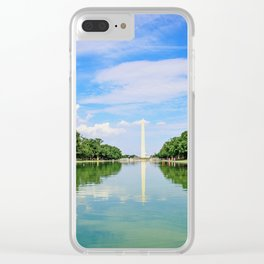 Washington Memorial Clear iPhone Case