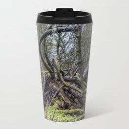 Fallen tree in Norway Travel Mug