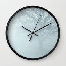 Tree / Winter Silence Wall Clock